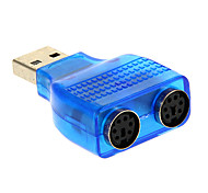 usb 2.0 macho para adaptador ps / 2