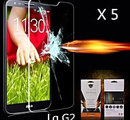 Ultimate Shock Absorption Screen Protector for LG G2 (5PCS)