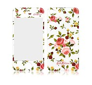 Angibabe Pastoral Scenery Camellia Pattern Front and Back Tempered Glass Screen Protector for iPhone 4/4S