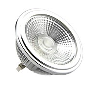 15W G53 LED Spotlight AR111 1 COB 1500LM lm Warm White DC 12 / AC 12 V