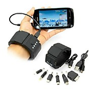 15-W Wrist 1500mAh Portable External Battery for Mobile Devices