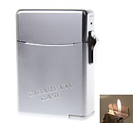 Zinc Alloy Lighter Suit (Cigarette Case + Lighters)