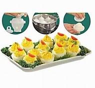 Multi-function Practical Cooking Egg Containers 6pcs