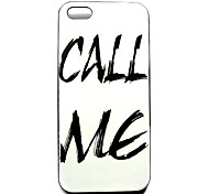 Call Me  Pattern Hard Case for iPhone 4/4S