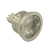 6W GU5.3(MR16) Spot LED MR16 1 COB 500-550 lm Blanc Chaud / Blanc Froid Gradable DC 12 V