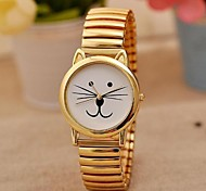 Women's Fashion Classic Simple Beard Cat Watches Cool Watches Unique Watches