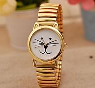 Women's Fashion Classic Simple Beard Cat Watches