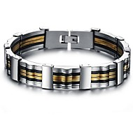 z&X® bracciale in titanio, acciaio di alta qualità moda maschile