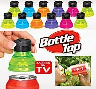 3pcs convierten convertir latas en botellas a presión reutilizable en las tapas de refrescos tapas tapas
