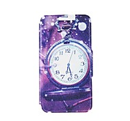 Kinston Pocket Watch in the Rain Pattern PU Leather Full Body Cover with Stand for iPhone 6 Plus