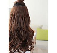 synthetische Langwelle 5 Clip-in Haarverlängerung