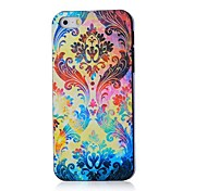 Colorful Flowers Pattern Hard Case for iPhone 4/4S
