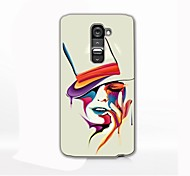 Colorful Woman Design Hard Case for LG G2