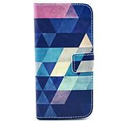 Коко fun® синий шаблон головоломка PU кожаный чехол с экрана Protecter, стоять и стилус для iPhone 6 Plus