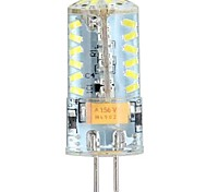 3W G4 LED Corn Lights / LED Bi-pin Lights T 57 SMD 3014 250 lm Cool White DC 12 / AC 12 / AC 24 / DC 24 V