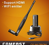 COMFAST® CF-WU760NL 150M USB WiFi Adapter Wireless Networking Card with Antenna Support HDTV-Black
