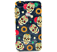 Cool Skull Pattern Hard Case for iPhone 4/4S