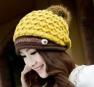 Outdoor Women's Fashion Warm Wool Cap