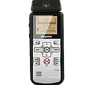 megafeis® F95 8gb profissional de voz digital gravador PCM mp3 g.729.a / dual core DSP / AGC selo / hora