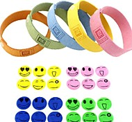 Pure Natural Mosquito Repellent Patch Bracelet
