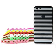 Trapezoidal Hollow Out Back Case for iPhone4/4S (Assorted Color)