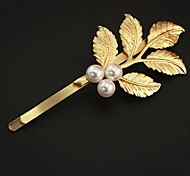 departamento sen do estilo grego fresco retro folhas douradas hairpin