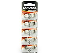 Camelion 1.5V AG10 Alkaline Button Battery (10pcs)