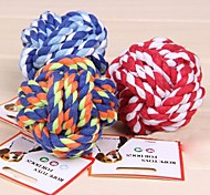 Lureme Woven Ball for Pets Dogs(Random Color)
