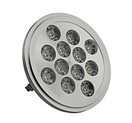 G53 12W 12 High Power LED 1300LM LM Cool White AR111 LED Spotlight DC 12 V