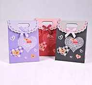 Coway 16.5*12.5*6 Beautiful Love Valentine's Day Party Paper Gift Bag(Assorted Color)