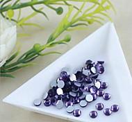 1.9*2.1mm Boutique(Purple)Flat Back Rhinestones(Phone Beauty)Nail bedazzle 100 pieces