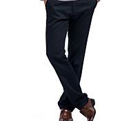 Lesmart Hommes Jeans / Droite Pantalon Noir - LX13183