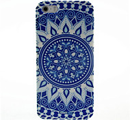Blu e Hard Case White Porcelain Motivo per iPhone4/4S