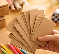 Kraft Paper Card(100 Pages)