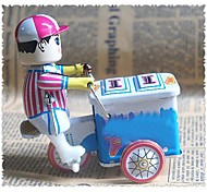 Tin Ice Cream Car Wind-Up Toys for Collection