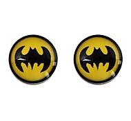 Fashionable Women's Bat Pattern Stainless Steel Drip Earrings (1Pair)