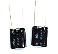 ZnDiy-BRY 5.5V/1.5F Super Electrolytic Capacitors - Black (2pcs)