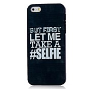 Phrase Pattern Hard Case for iPhone 4/4S