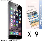 High Quality Anti-fingerprint Screen Protector for iPhone 6 Plus (9 pcs)
