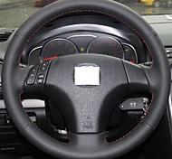 Xuji ™ черный подлинный кожаный чехол руль для старых Mazda 3 Mazda 5 Mazda 6 2003-2009