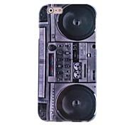 Hi-Q Vintage Radio Water Decals Pattern TPU Soft Case for iPhone6