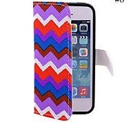 Coway The Wave Pattern Cloth Mobile Phone Holster Case for iPhone5/5s(Assorted Color)