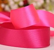 Solid Color 1 Inch Satin Ribbon- 50 Yards Per Roll (More Colors)