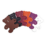 Leather Rabbit Cartoon Earphone Cable Wire Cord Organizer Cable Winder