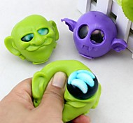 Alien with Maggots Water Polo in the Head Joke Gadgets Toys (Random Color)