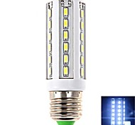 E26/E27 9 W 42 SMD 5630 1020 LM Cool White T Corn Bulbs AC 100-240 V