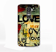 LOVE Design Hard Case for LG G2