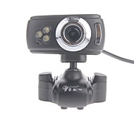 RAYANTS C-006 8.0MP HD Webcam with Night Vision Light