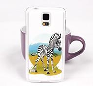 The Lovely Zebra Pattern PC Back Case for Samsung Galaxy Note 4