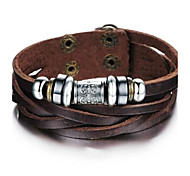Z&X®  Men's Fashion Personality National Wind Skin  Bracelets